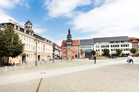 www.Ferienwohnung-WeimarerLand.de / Eisenach Marktplatz