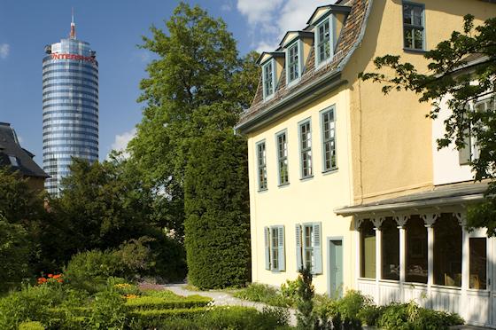 www.Ferienwohnung-WeimarerLand.de / Schillers Gartenhaus Jena
