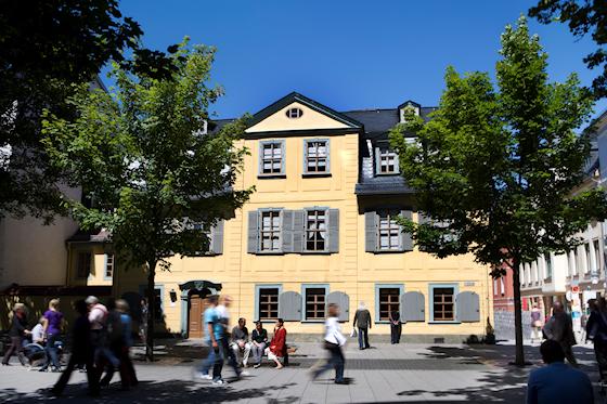 www.Ferienwohnung-WeimarerLand.de / Schillers Wohnhaus, Weimar