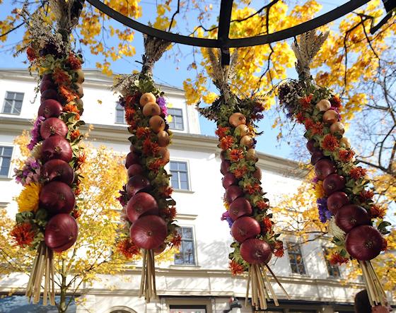 www.Ferienwohnung-WeimarerLand.de * Ferienwohnung Morgensonne Bad Berka *Zwiebelmarkt in Weimar