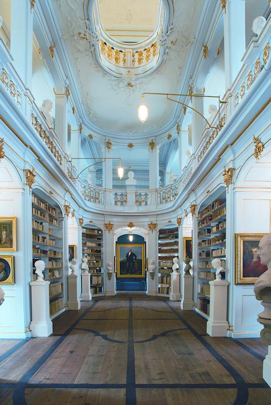 www.Ferienwohnung-WeimarerLand.de / Anna-Amalia-Bibliothek, Weimar