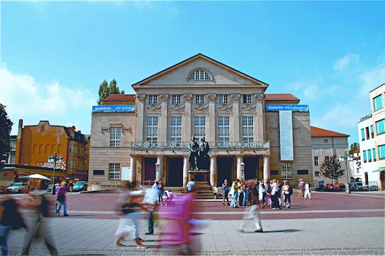www.Ferienwohnung-WeimarerLand.de / DNT, Deutsche Nationaltheater in Weimar