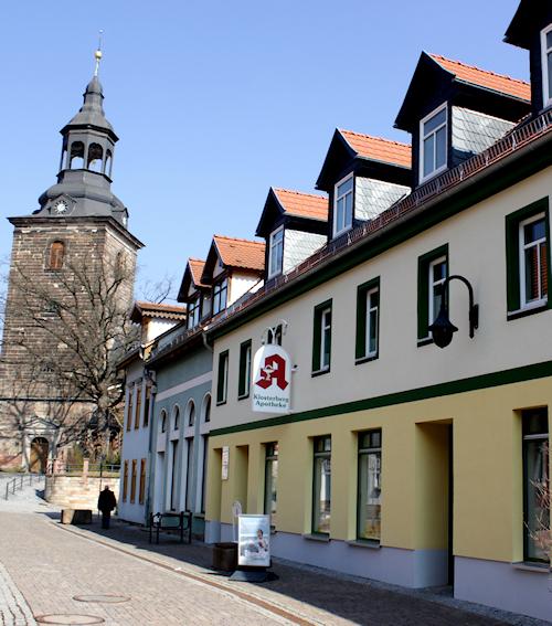 www.Ferienwohnung-WeimarerLand.de * Ferienwohnung Morgensonne * Klosterberg - Apotheke Bad Berka / Thüringen