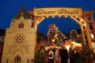 Ferienwohnung Morgensonne Bad Berka Weimar Weihnachtsmarkt